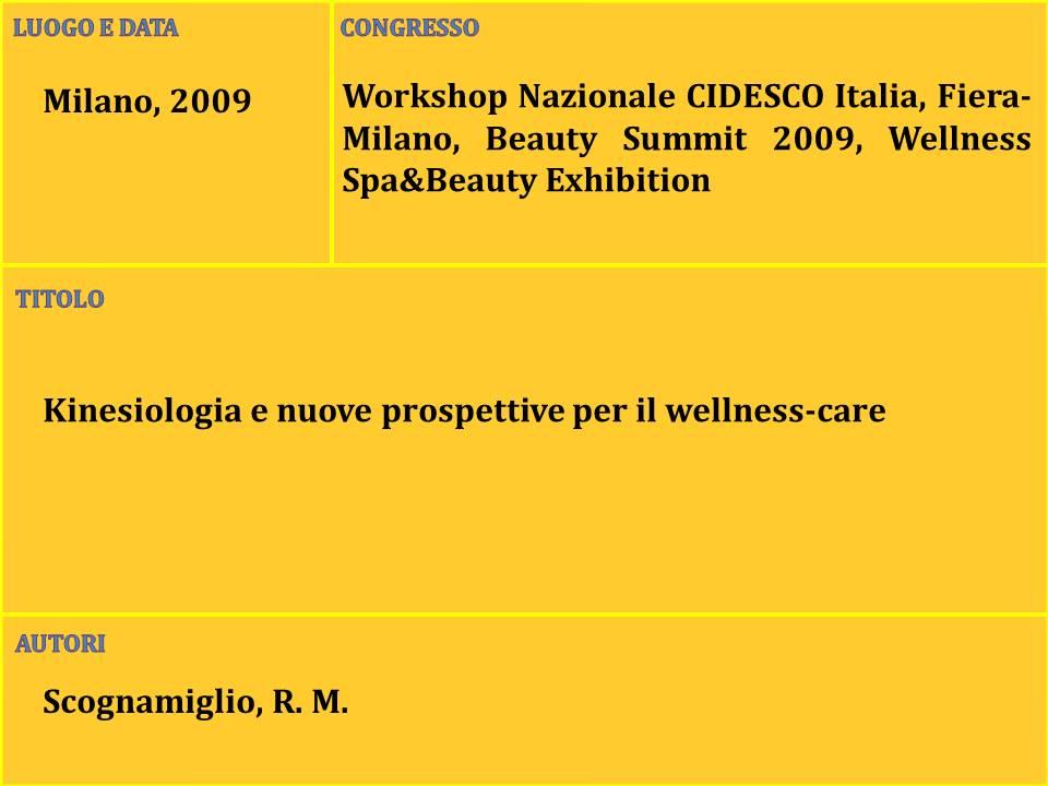 2-Kinesiologia e nuove prospettive per il wellness-care