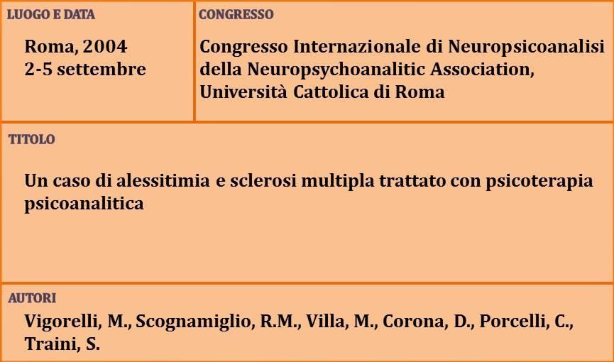 22-Un caso di alessitimia e sclerosi multipla trattato con psicoterapia psicoanalitica