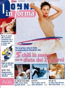 Donna in forma novembre 1998